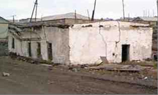 Разрушение здания, Амдерма