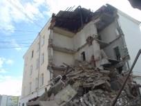 Разрушение здания, Якутск