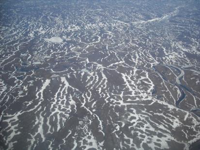 Воркутинский район с воздуха
