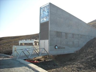 Хранилище семян в мерзлоте на Шпицбергене