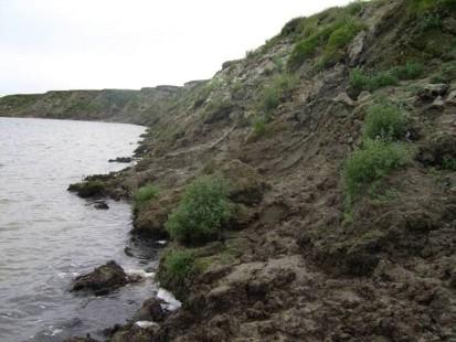 Thermoabrasion on Yamal 2